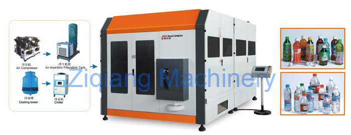 Rotary PET Blow Molding Machine